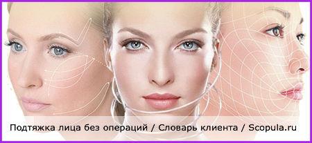 подтяжка лица без операций